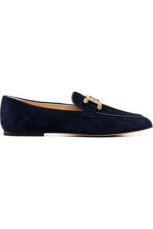Tod's Buckle strap loafers
