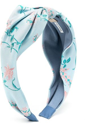HUCKLEBONES LONDON Floral print hairband