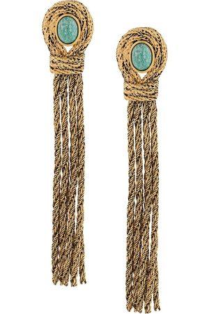 Aurélie Bidermann Rope-chain tassel drop earrings