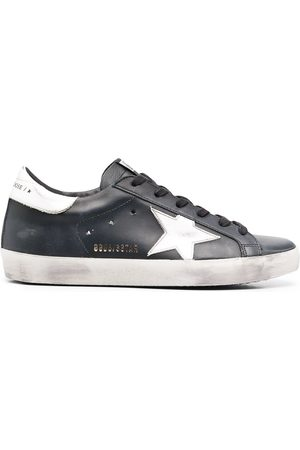 Golden Goose Logo patch sneakers