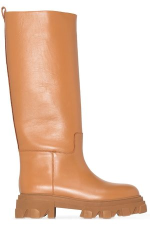 GIA Women Knee High Boots - X Pernille Teisbaek 07 leather knee-high boots