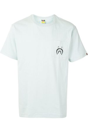 A BATHING APE® Shark patch-pocket T-shirt