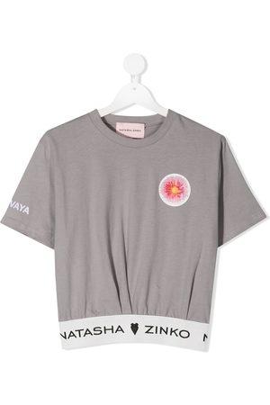 Natasha Zinko Delovaya cropped T-shirt