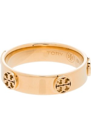 Tory Burch Multi-logo band ring
