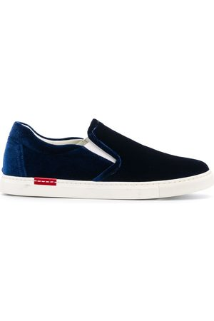 Scarosso Asia velvet sneakers