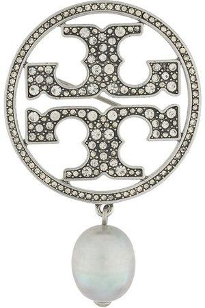 Tory Burch Crystal-embellished brooch