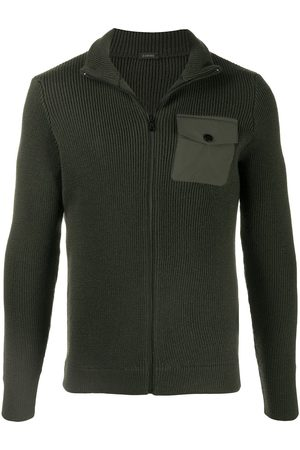 ZANONE Knitted zip-front sweater