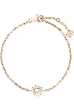 NOUVEL HERITAGE 18kt yellow Mystic small diamond star bracelet