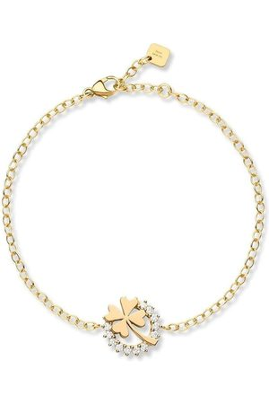 NOUVEL HERITAGE 18kt yellow medium Luck diamond bracelet