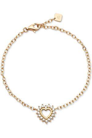 NOUVEL HERITAGE 18kt yellow medium Mystic Love diamond bracelet