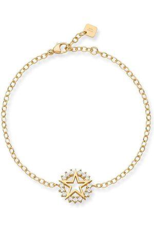 NOUVEL HERITAGE 18kt yellow medium Mystic star diamond bracelet