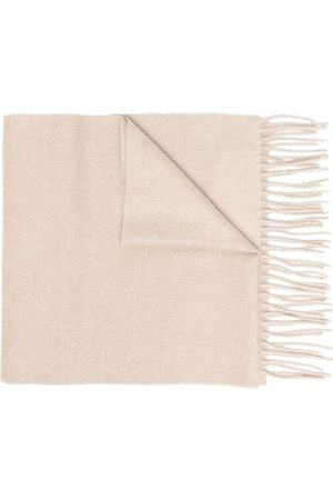 DELL'OGLIO Fringe edge scarf