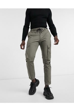 Topman Men Cargo Pants - Techy cargo trousers in khaki
