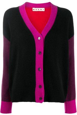Marni Cashmere colour-block cardigan