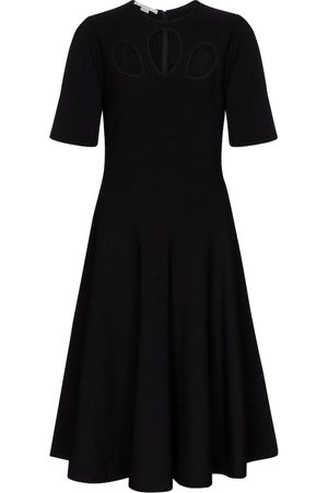 Stella McCartney Cutout knit midi dress