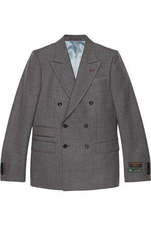 Gucci New Signoria stitching double-breasted blazer