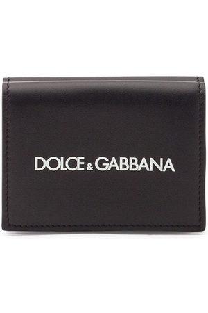 Dolce & Gabbana Men Wallets - Logo-print bifold wallet