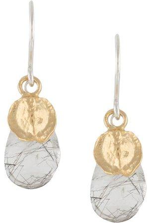 WOUTERS & HENDRIX Beaded drop earrings