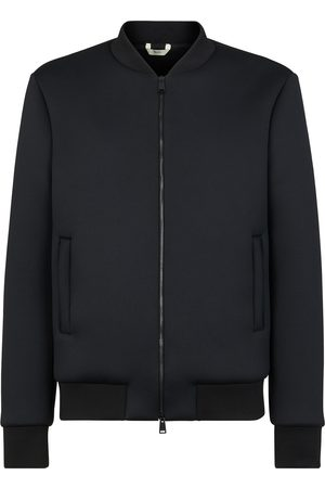 Fendi Men Bomber Jackets - Logo-detail bomber jacket