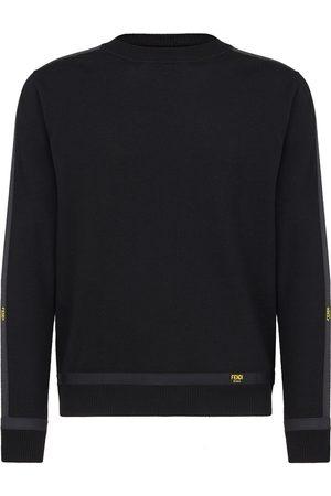 Fendi Men Jumpers - Wool-blend jumper