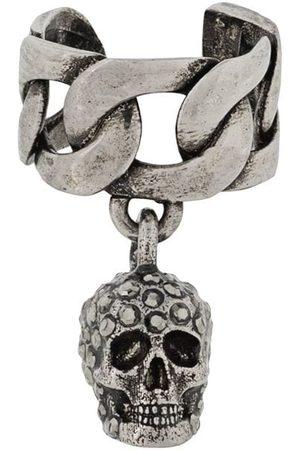 Alexander McQueen Women Earrings - Skull chain earring