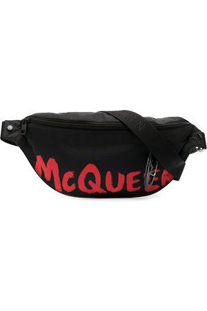 Alexander McQueen Men Belts - Logo print belt bag