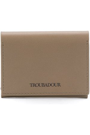 TROUBADOUR Logo card holder
