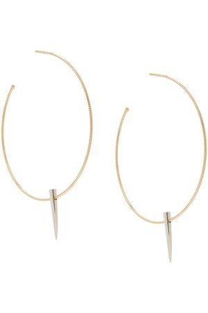 WOUTERS & HENDRIX Girls Earrings - Midnight Children hoop earrings