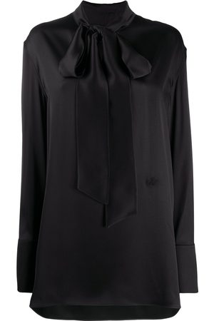 Jil Sander Mock-neck silk blouse