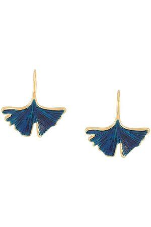Aurélie Bidermann Peony Tangerine earrings