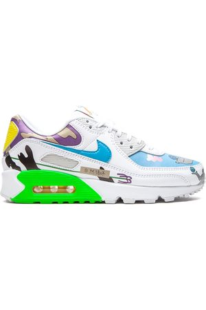 """Nike Flyleather Air Max 90 QS """"Ruohan Wang"""" low-top sneakers"""
