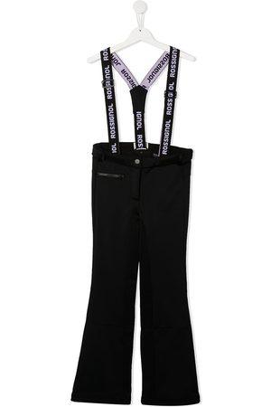 Rossignol TEEN logo-embellished ski softshell overalls