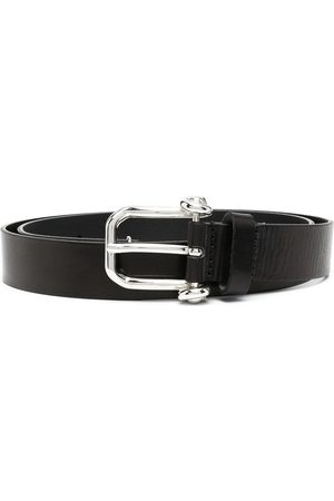 Diesel Logo embossed buckled belt