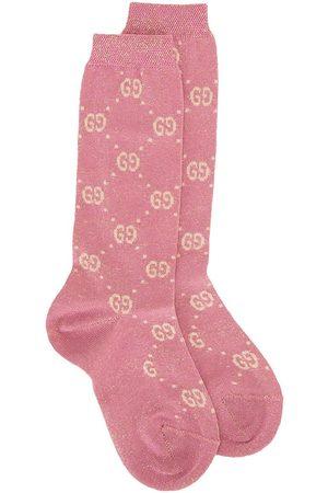 Gucci Girls Stockings - GG pattern socks