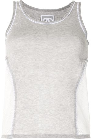 CHANEL 2004 Sports panelled tank top