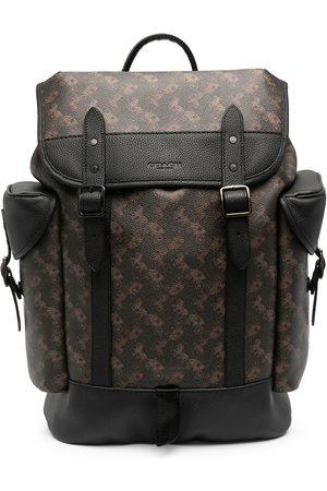Coach Logo print backpack