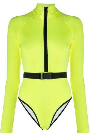 Noire Swimwear Long-sleeve one-piece swimsuit