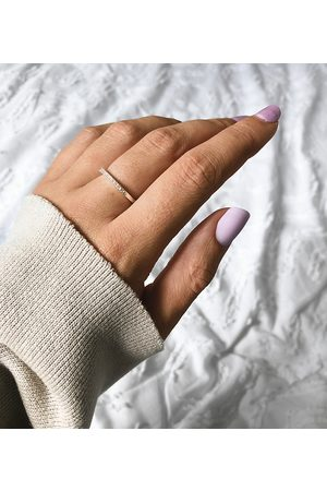 ASOS Sterling ring with crystals