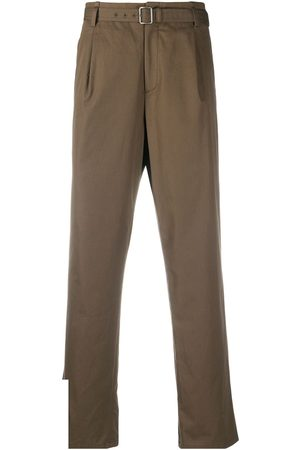 Neil Barrett Belted chino trousers