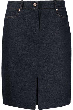 Céline Women Skirts - High waist knee-length skirt