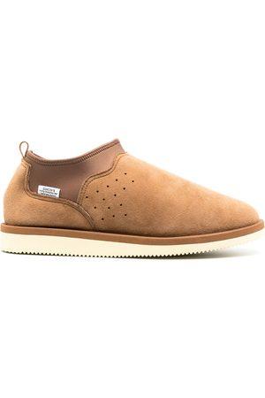 SUICOKE Ron slip-on suede shoes