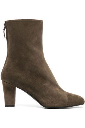 MICHEL VIVIEN Rear zip ankle boots