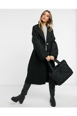 ASOS Belted slouchy coat in