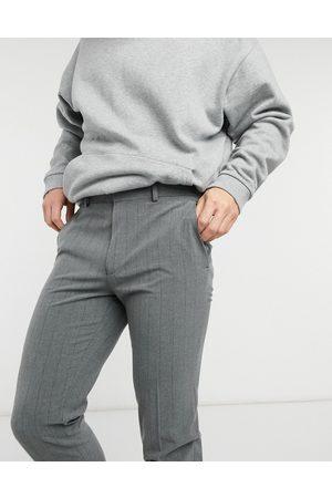 ASOS Super skinny stripe smart trouser