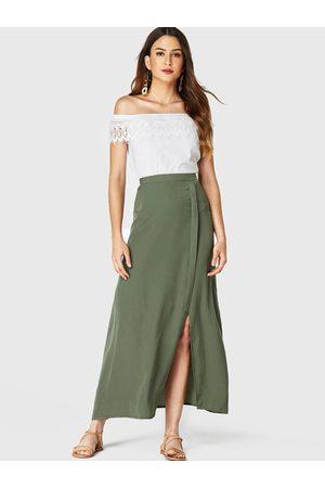 YOINS Split Design Long Skirt