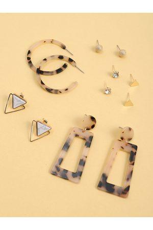 YOINS Women Earrings - 6pairs Geometric Earring Set