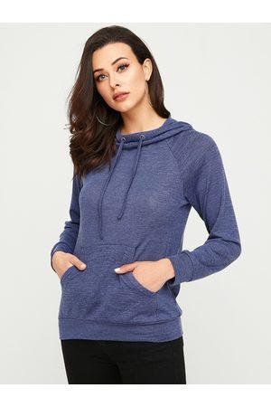 YOINS Hooded Drawstring Pocket Design Hoodie