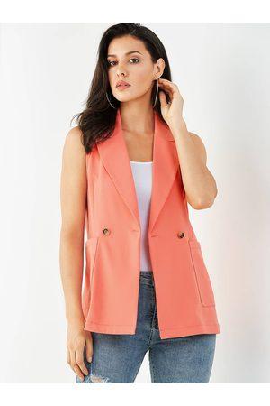 YOINS Pocket Design Lapel Collar Waistcoat