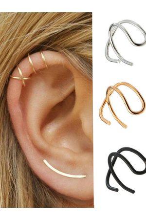YOINS Gold Graphic Five Piece Ear Clips