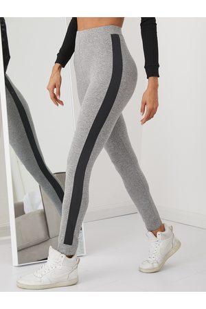 YOINS Side Ribbon High Waisted Leggings